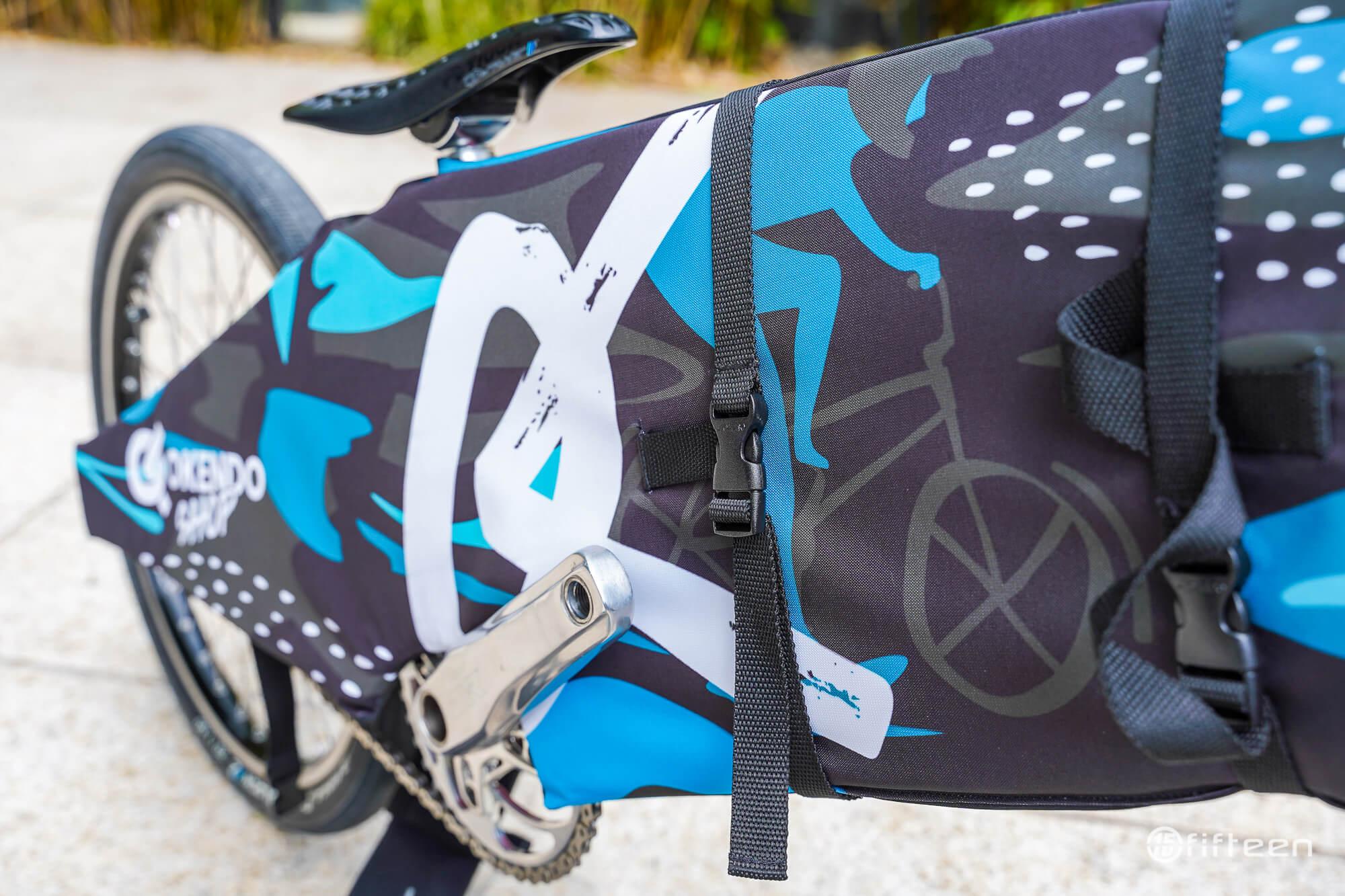 Okendo Travel Pads Straps - Fifteen BMX