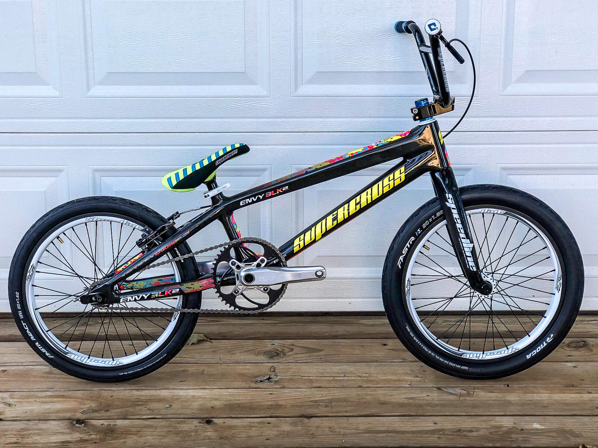 KJ Supercross Envy BLK 2 2019 Black - KJ Romero