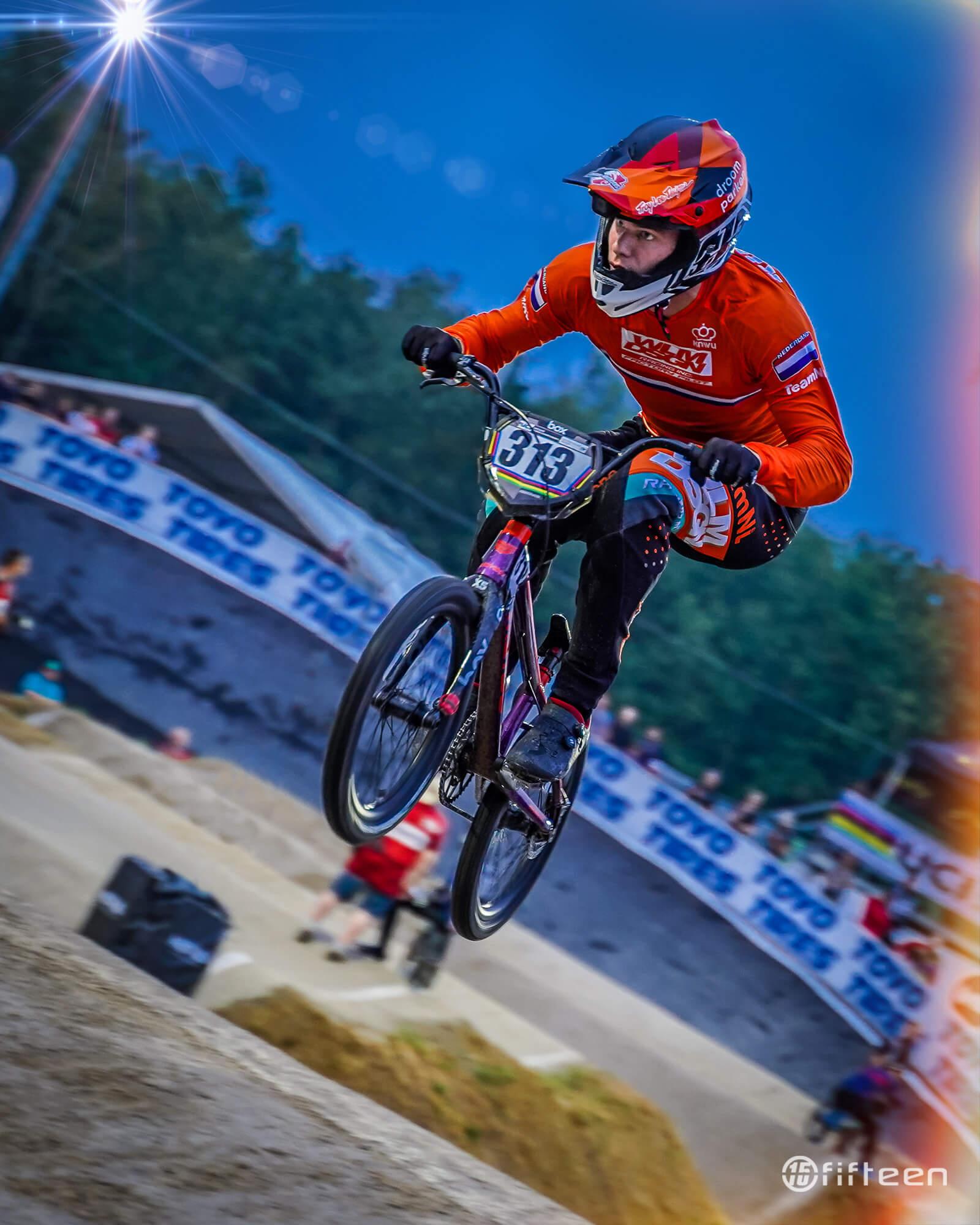 Niek Kimmann 2019 UCI Worlds - Fifteen BMX