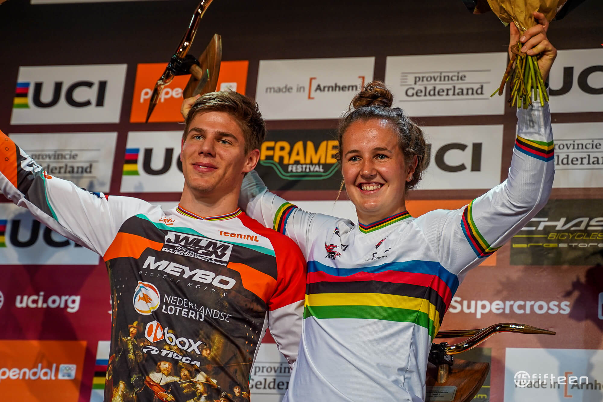 Niek and Laura 2019 Papendal World Cup - Fifteen BMX