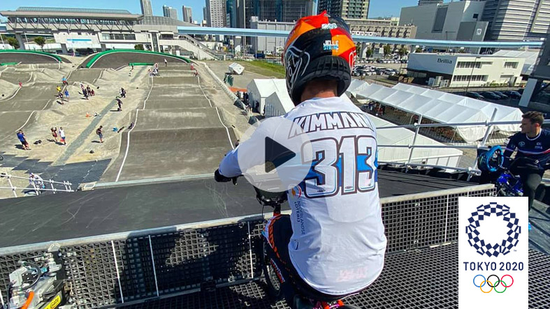 A lap of the 2020 Olympic Track | Niek Kimmann