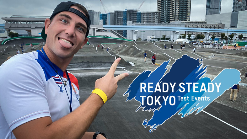 On the ground at Ready, Steady, Tokyo!