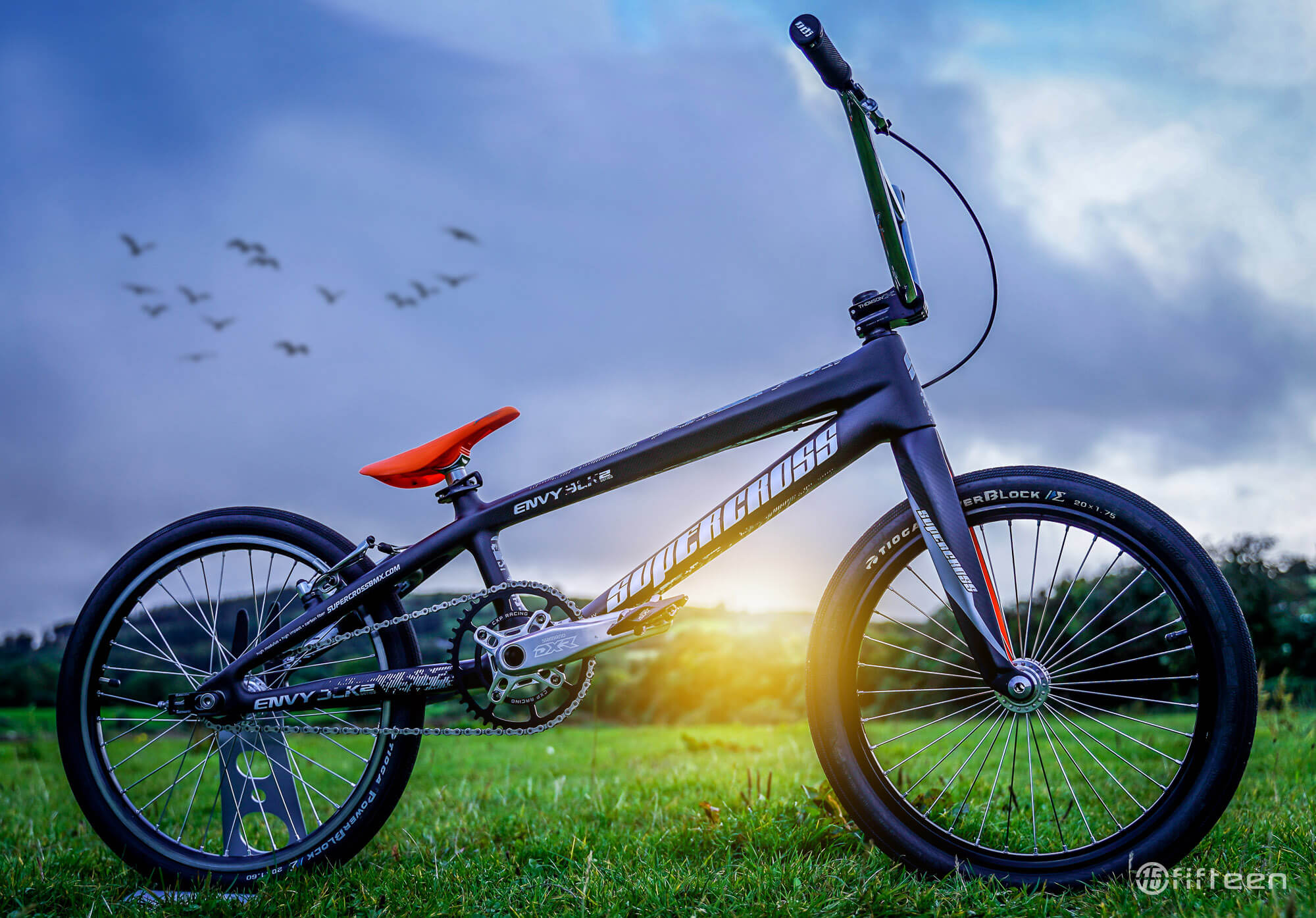 Supercross Envy BLK 2 Review - Side Profile - Fifteen BMX