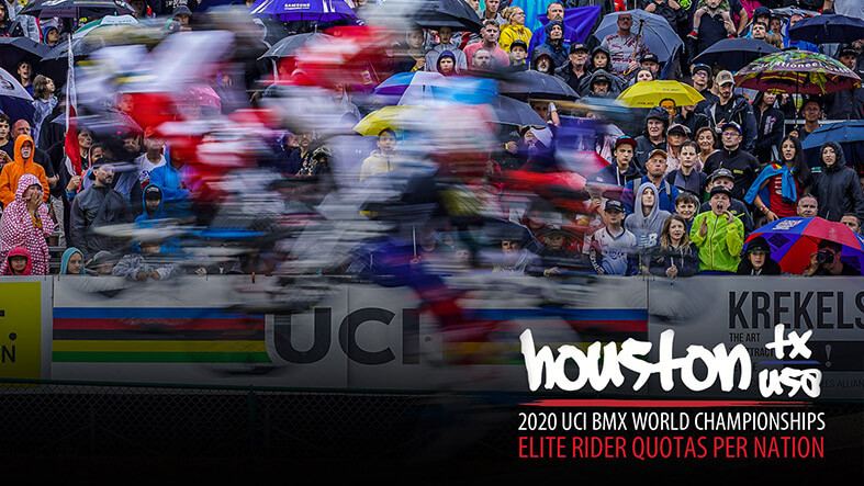 2020 UCI Houston Worlds | Elite Quotas
