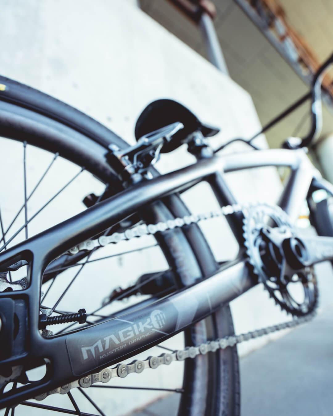 Caroline Buchanan Bike Check - John Prutti