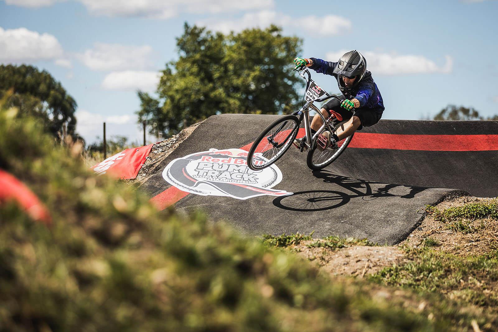 Red Bull Pump Track Cambridge NZ March 2020 - Dan Griffiths