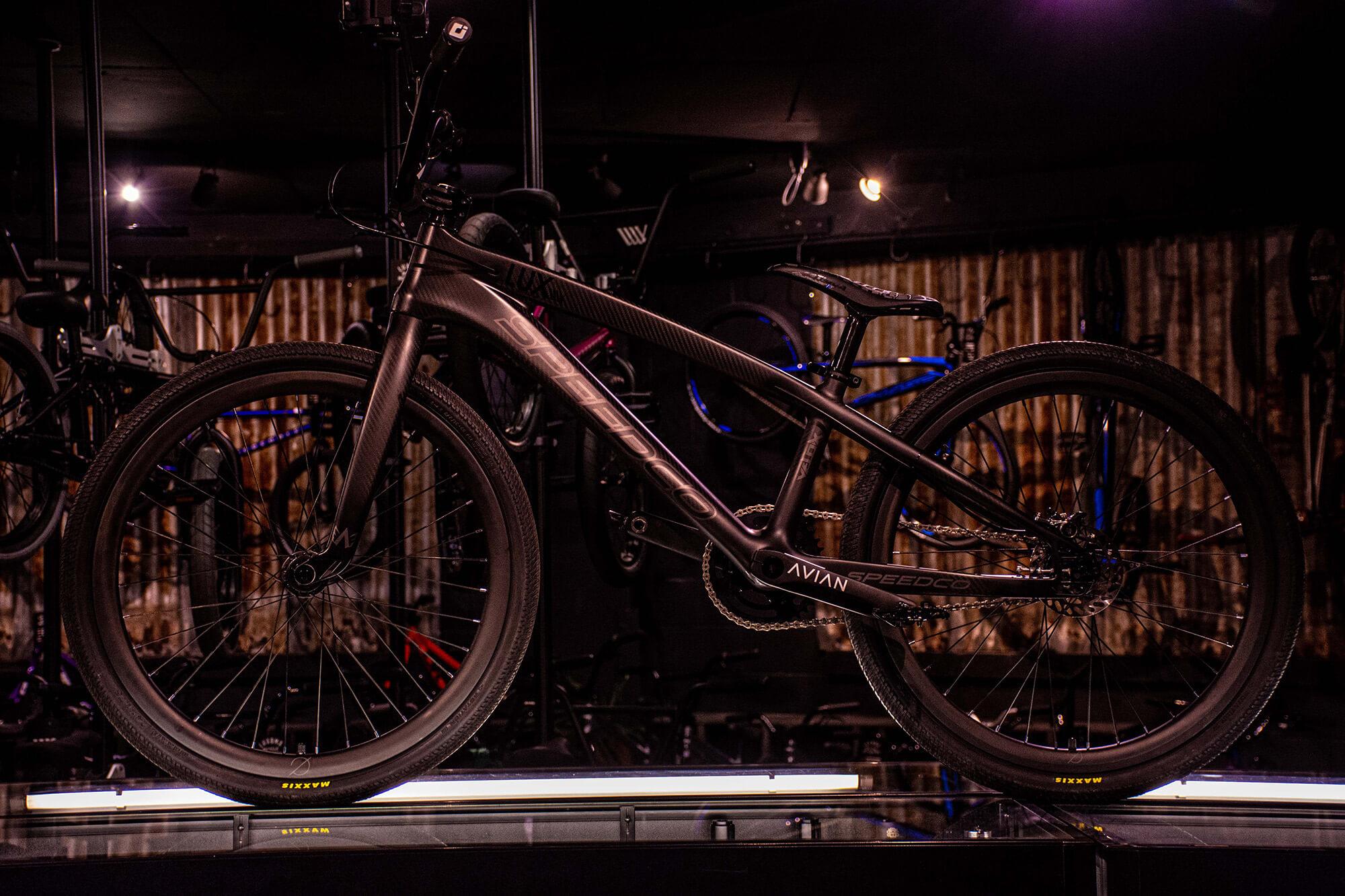 Lux BMX Speedco Black - Bruce Morris