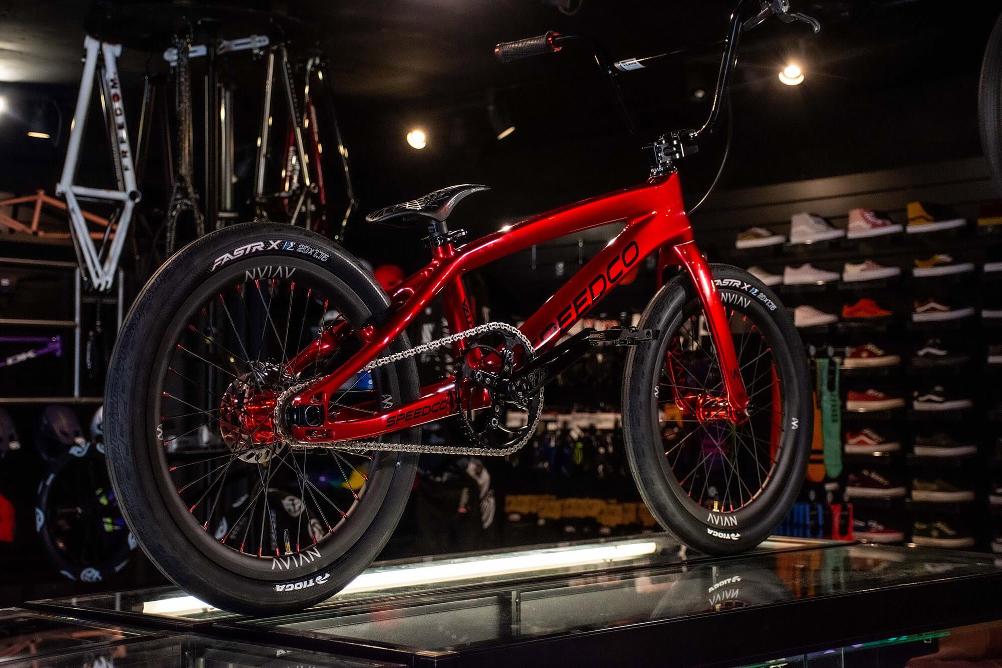 Lux BMX Speedco Red - Bruce Morris
