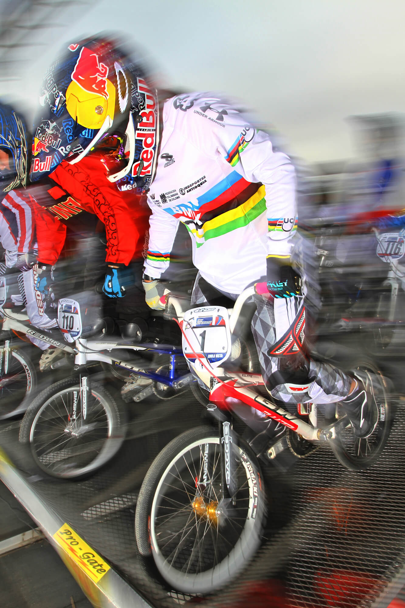 2012 UCI World Cup in Chula Vista Mariana Pajon - Jerry Landrum