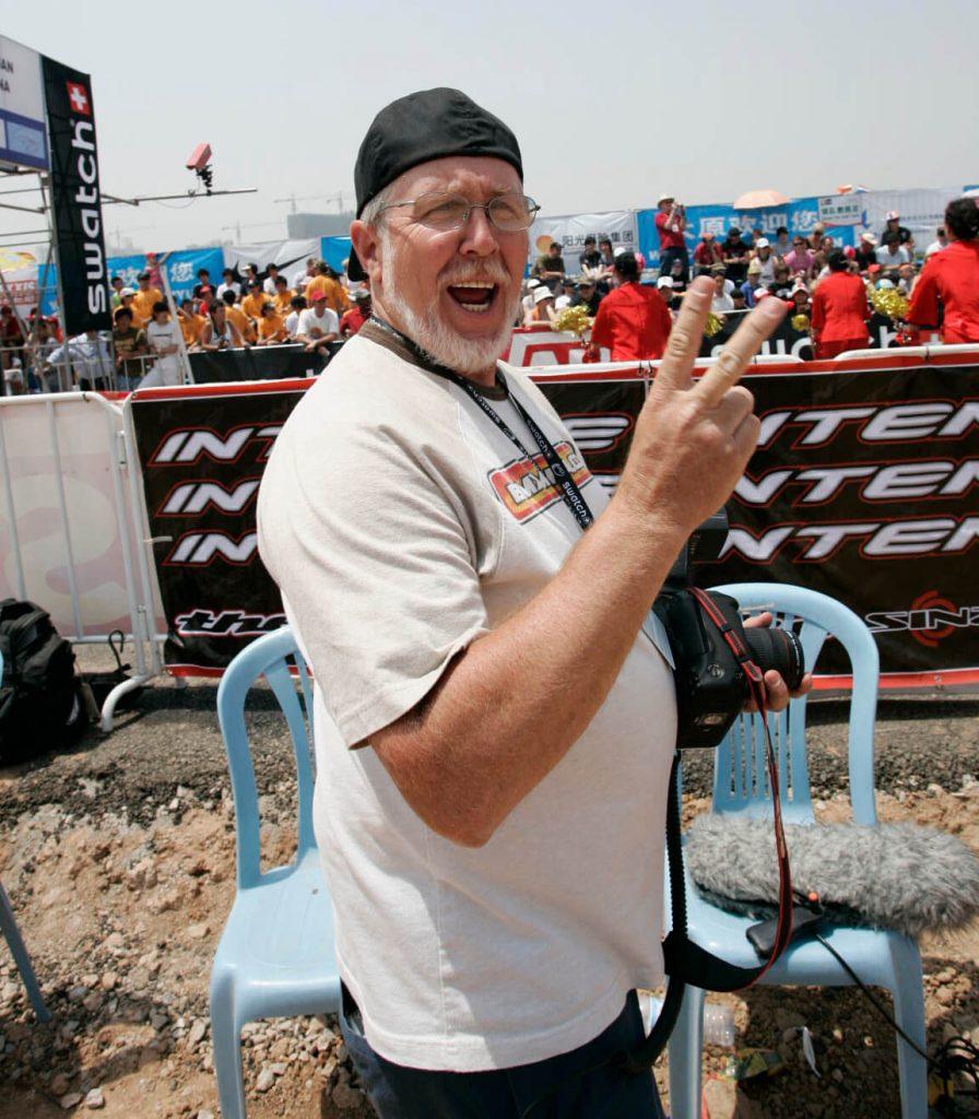 Jerry Landrum 2008 China UCI BMX Worlds