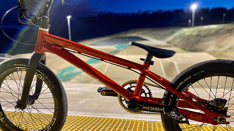 Tempo BMX Prototype SX Frame | The Allegro