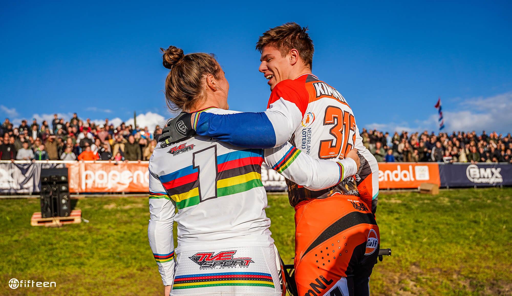 Niek Kimmann and Laura Smulders - Fifteen BMX