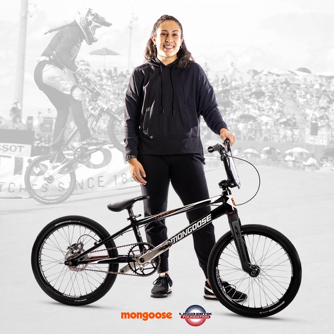 Sophia Foresta Joins Mongoose and USA BMX Foundation Nov 2020