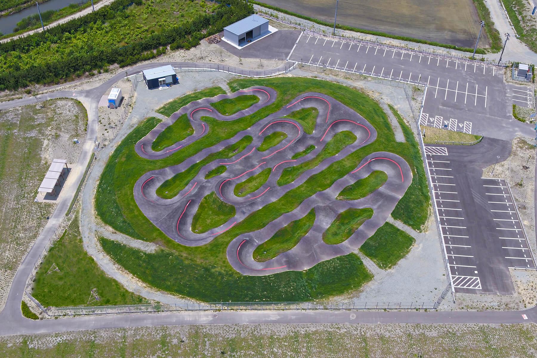 Red Bull Pump Track Fukushima, Japan - Velosolutions