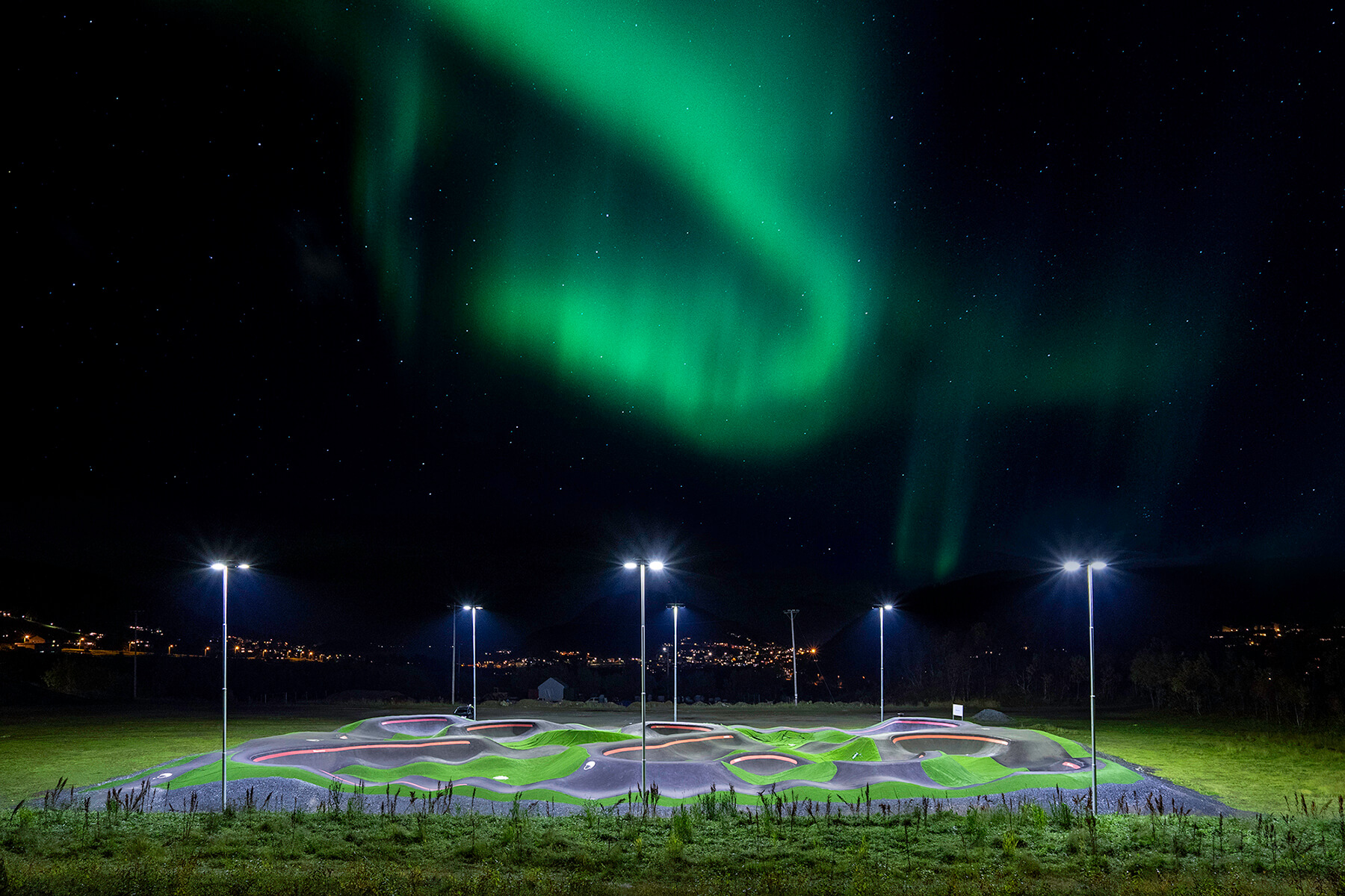 Red Bull Pump Track Harstad, Norway - Velosolutions