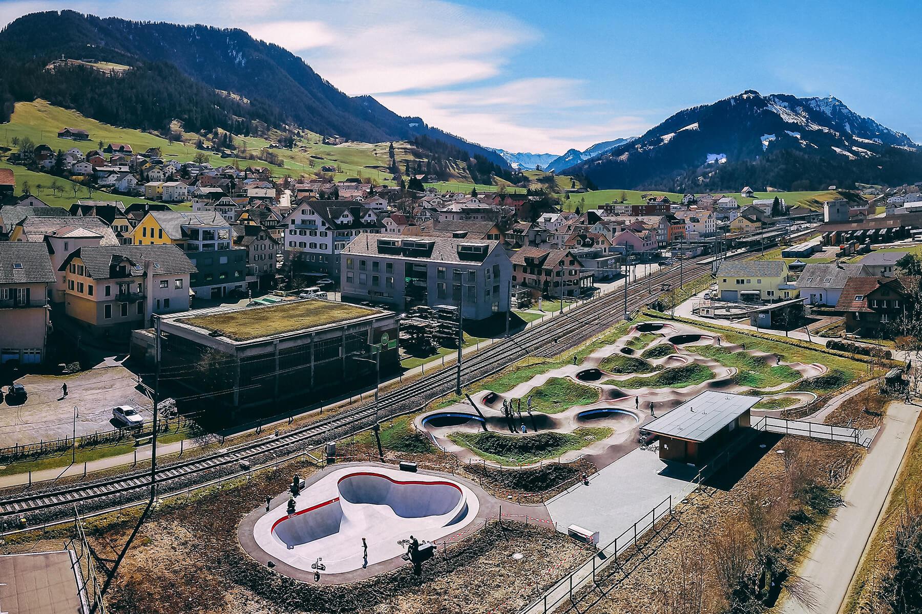 Red Bull Pump Track Schüpfheim,Switzerland - Velosolutions