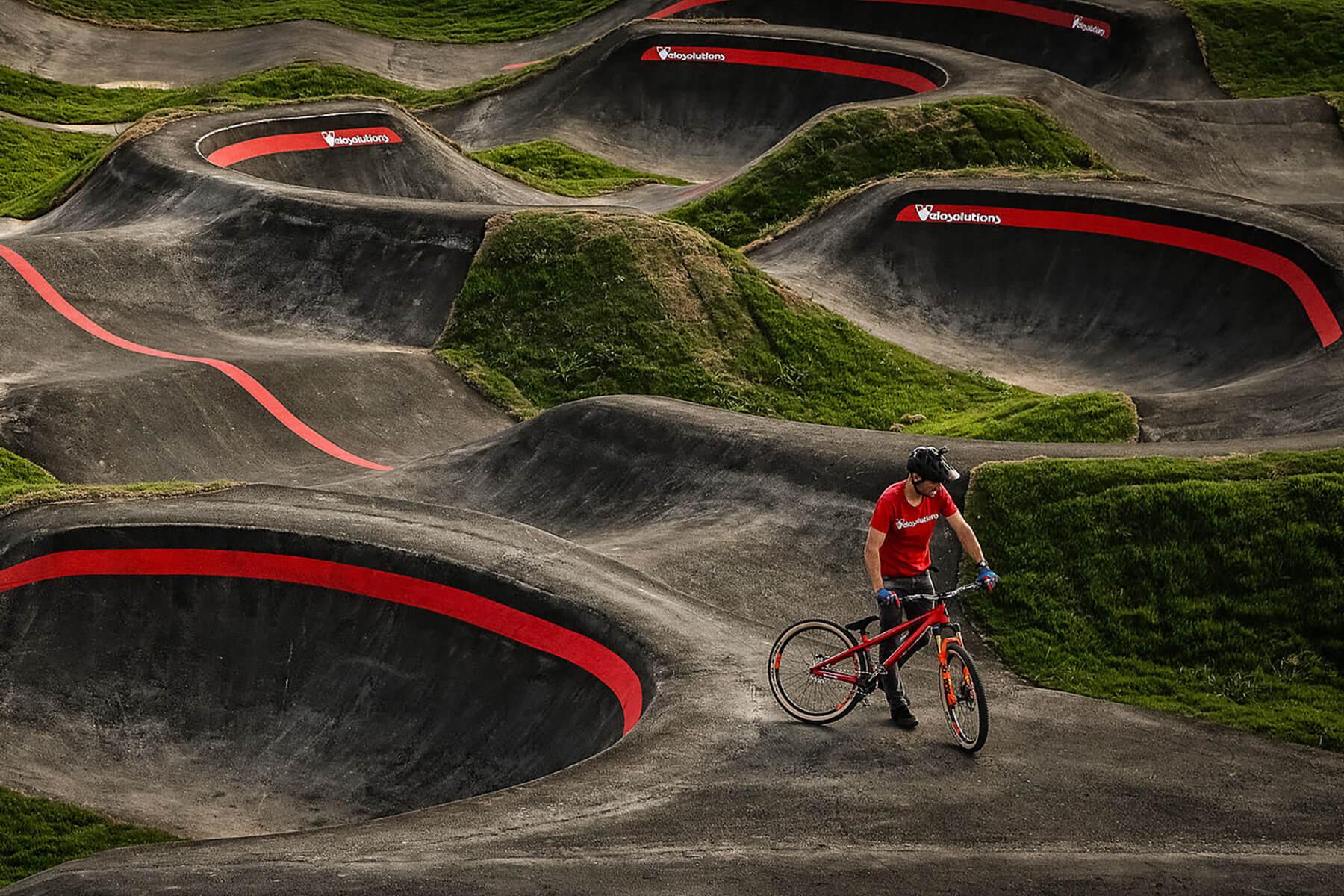 Red Bull Pump Track Springdale, Arkansas, USA