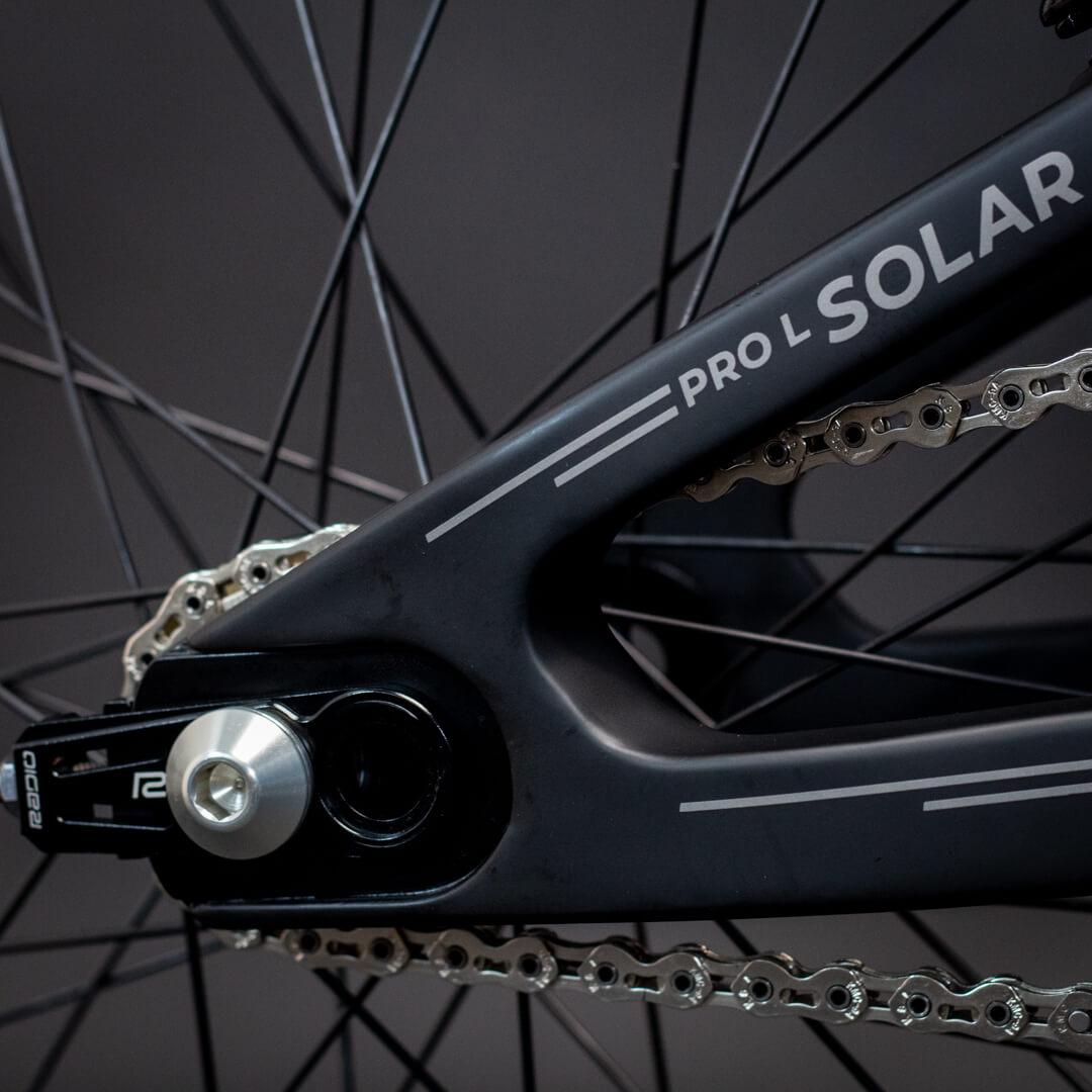 Radio Solar Carbon 10 - Lux BMX
