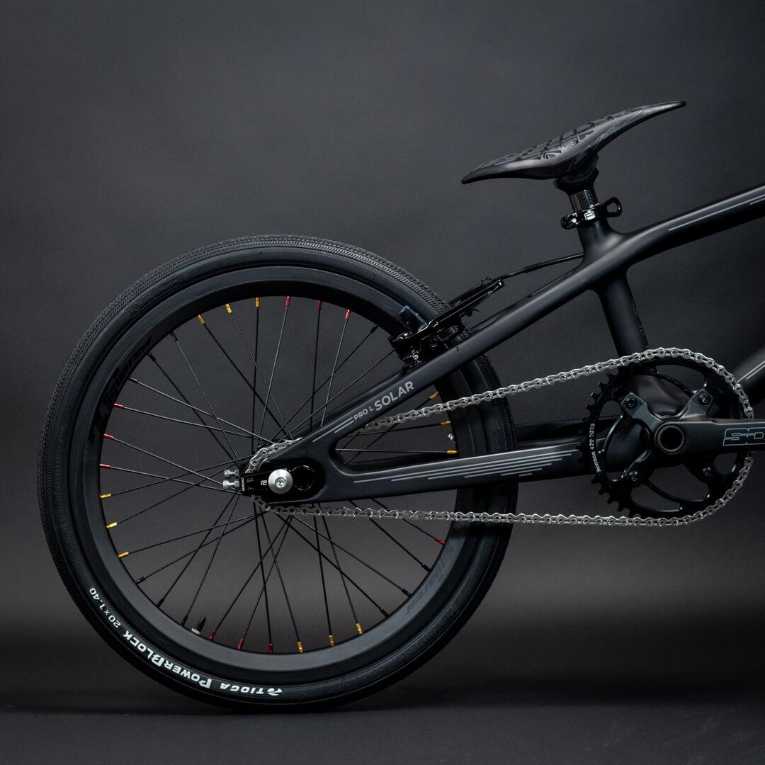 Radio Solar Carbon 4 - Lux BMX