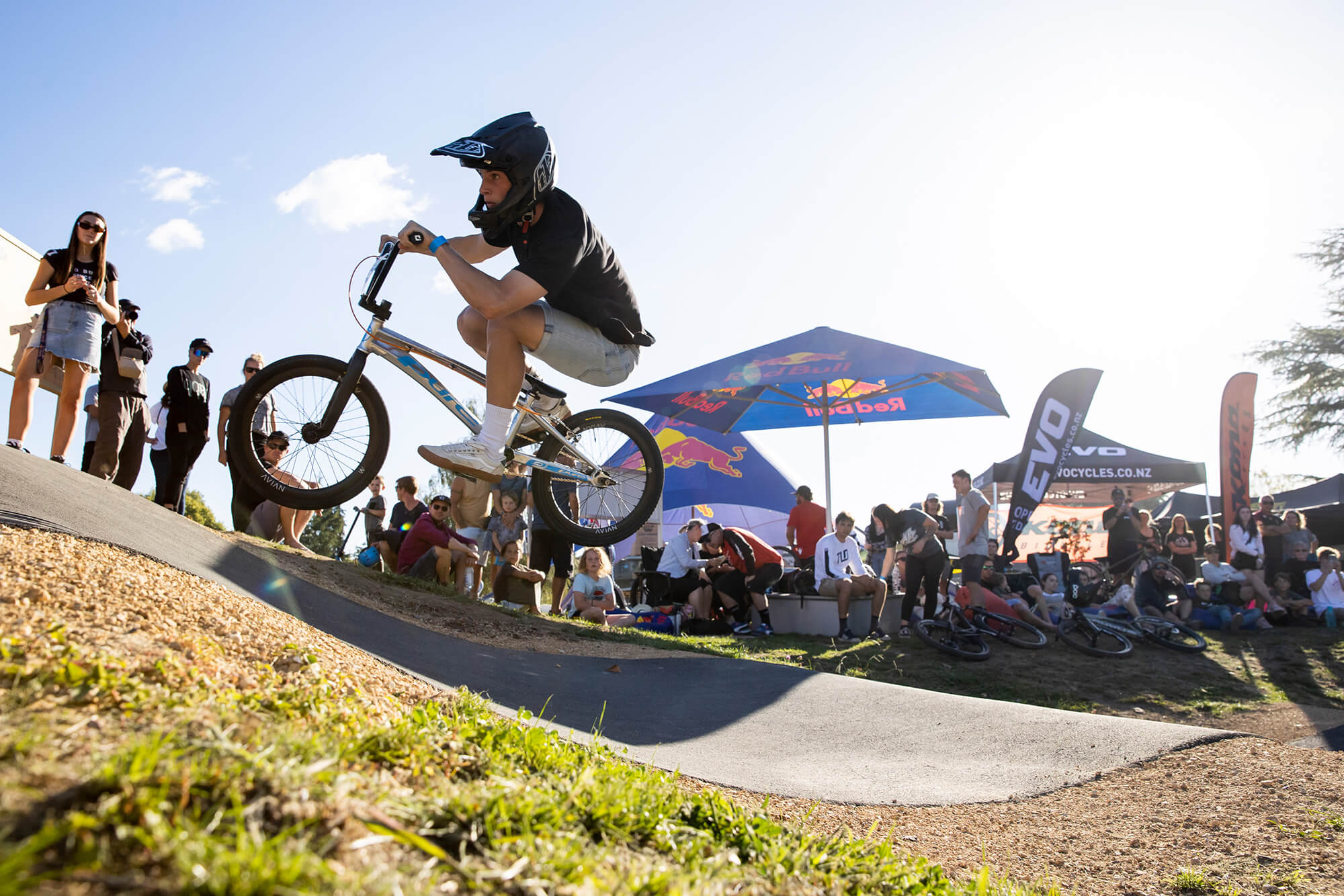 Red Bull Pump Track Cambridge NZ 2021 - Graeme Murray - Bennett Greenough