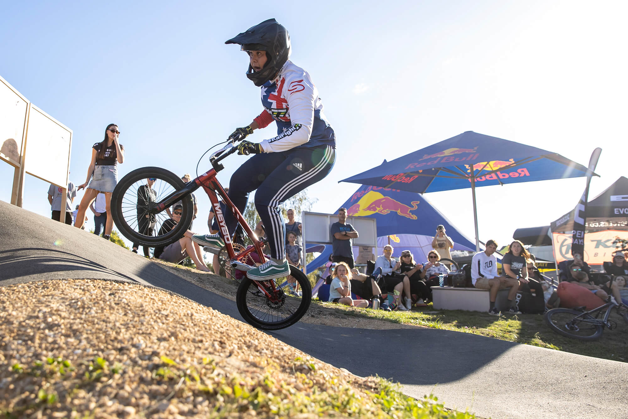 Red Bull Pump Track Cambridge NZ 2021 - Graeme Murray - Jessie Smith