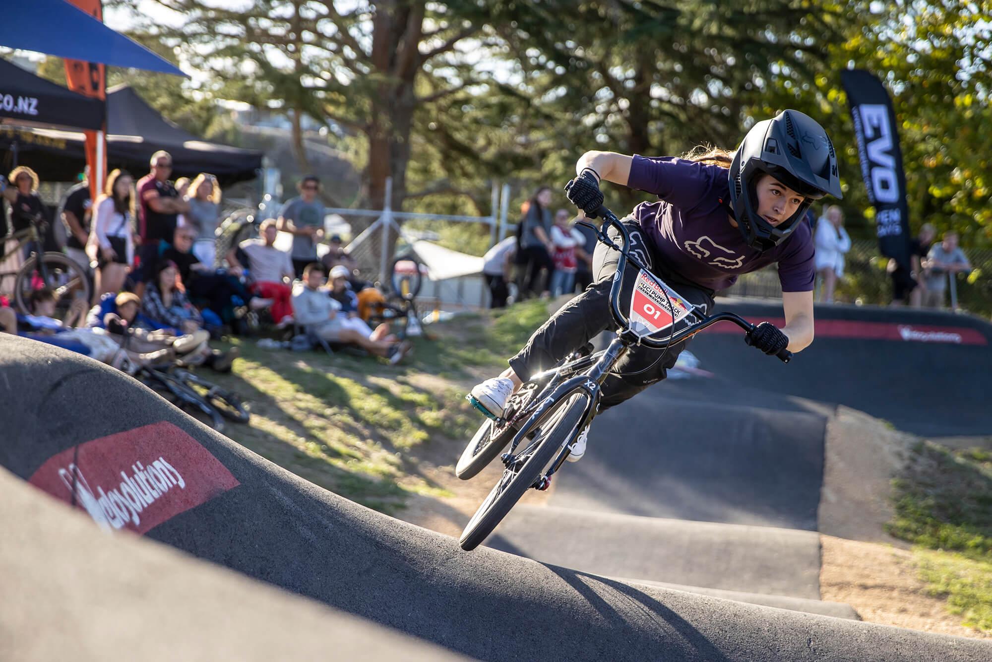 Red Bull Pump Track Cambridge NZ 2021 - Graeme Murray - Rebecca Petch