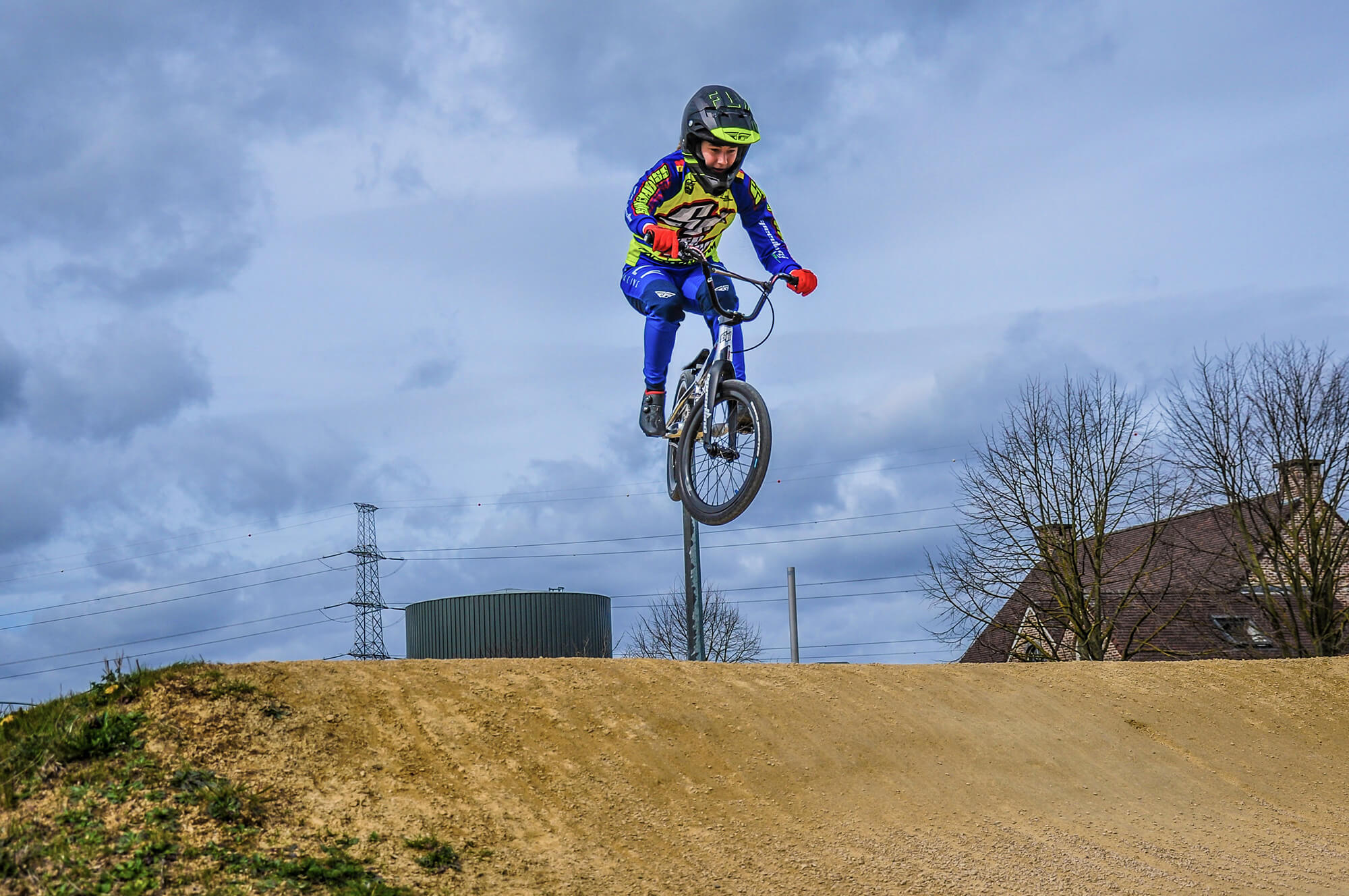 Robyn Gommers Supercross RS7 Bike Check April 2021 - Fifteen BMX