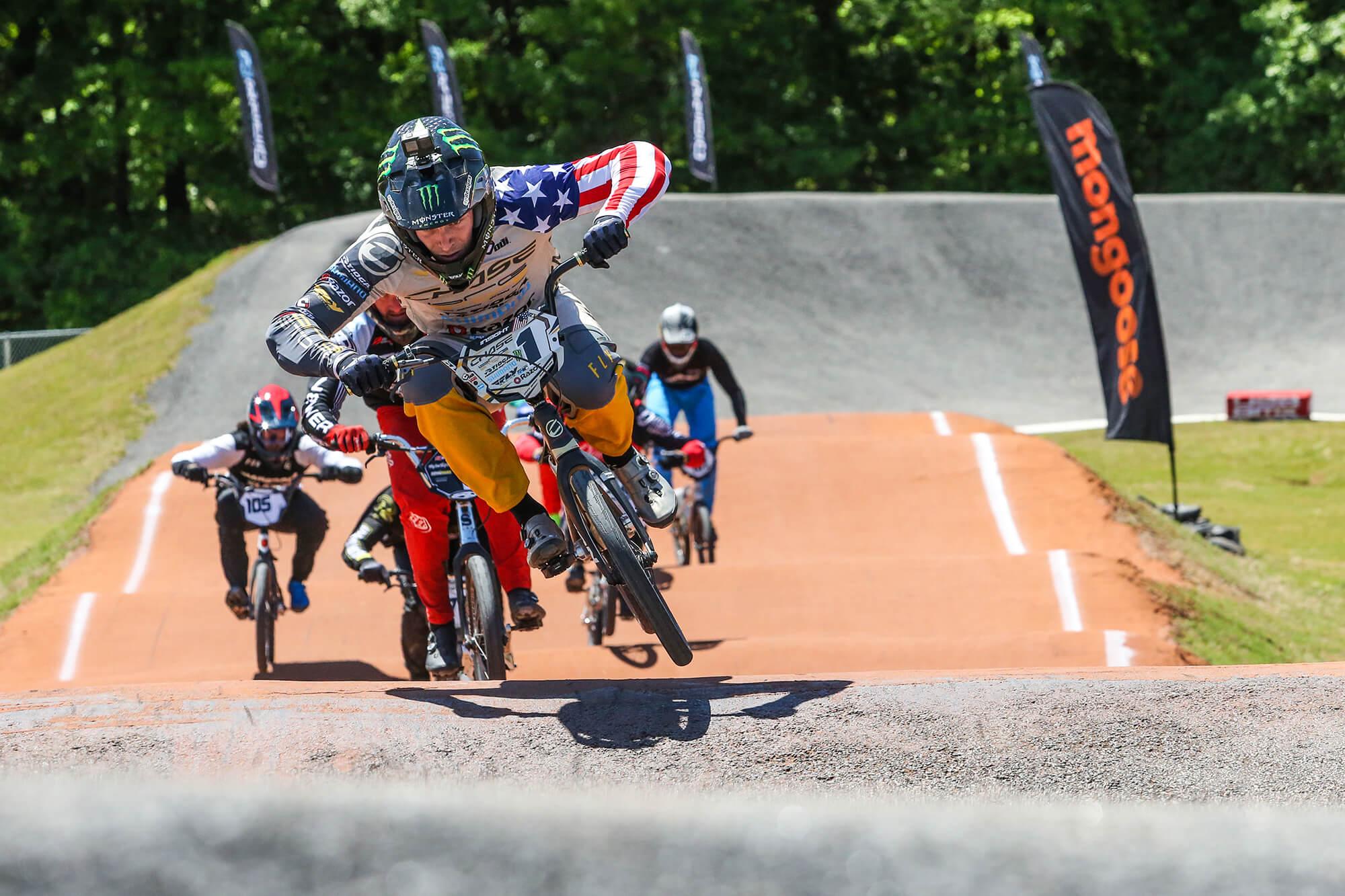 Connor Fields on B Finals - USA BMX