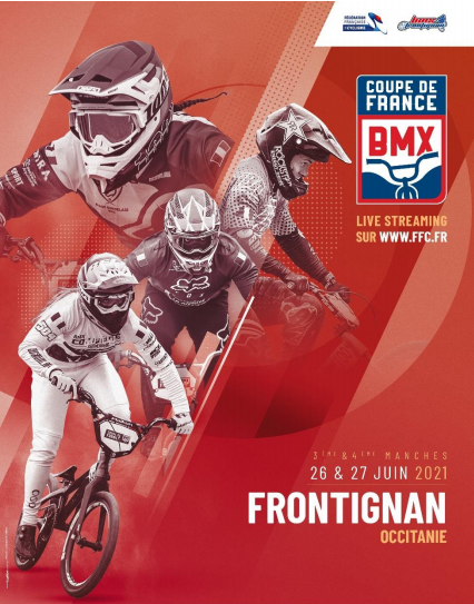 2021 French Cup Frontignan Poster