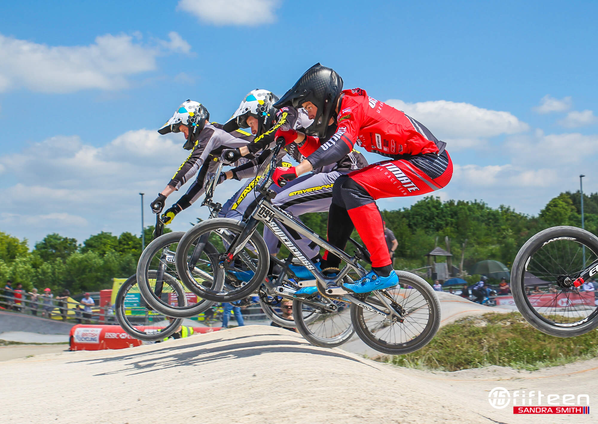 British BMX Series 2021 Cyclopark - Sandra Smith