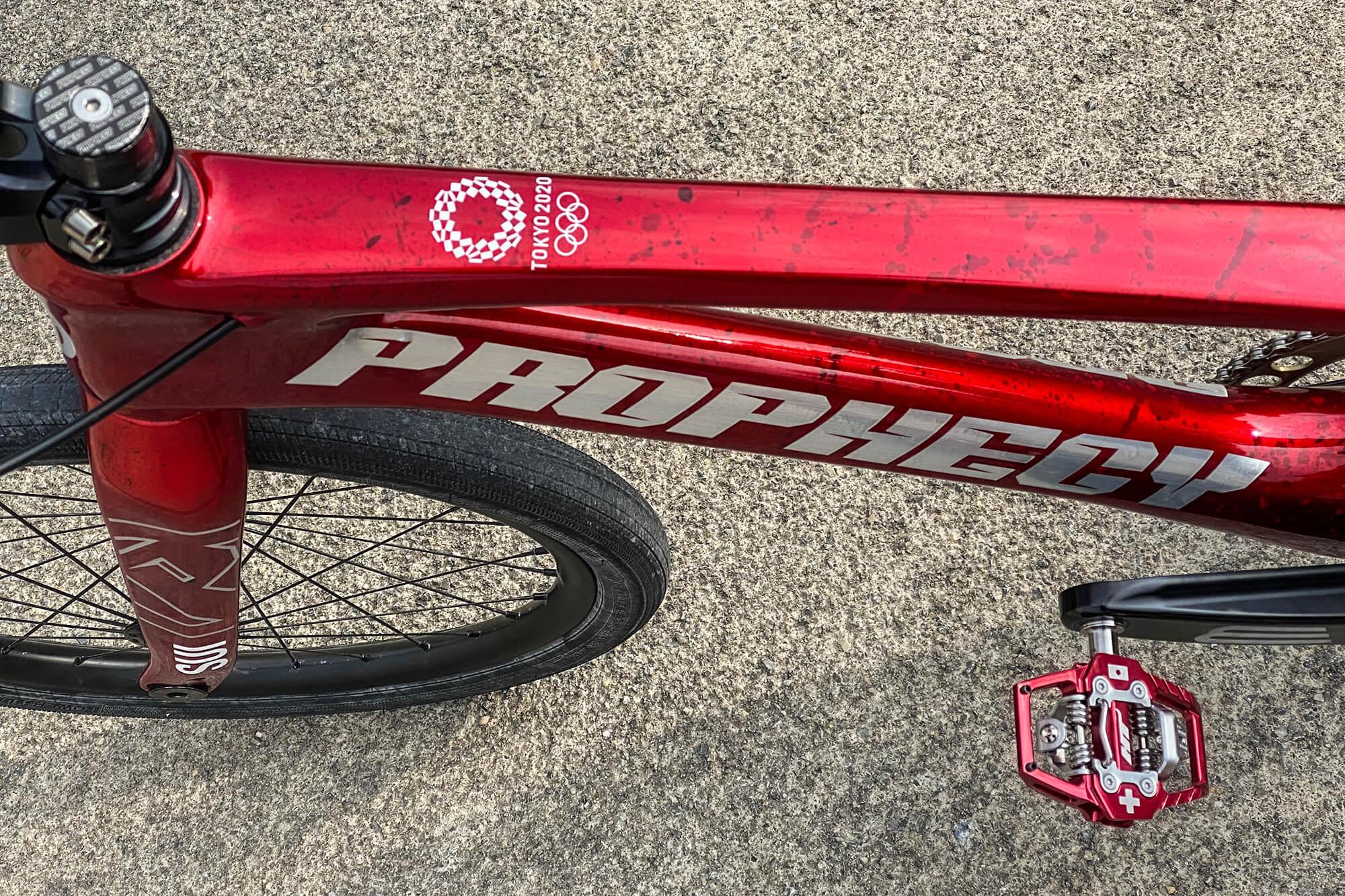 David Graf Tokyo 2020 Olympic Bike Check