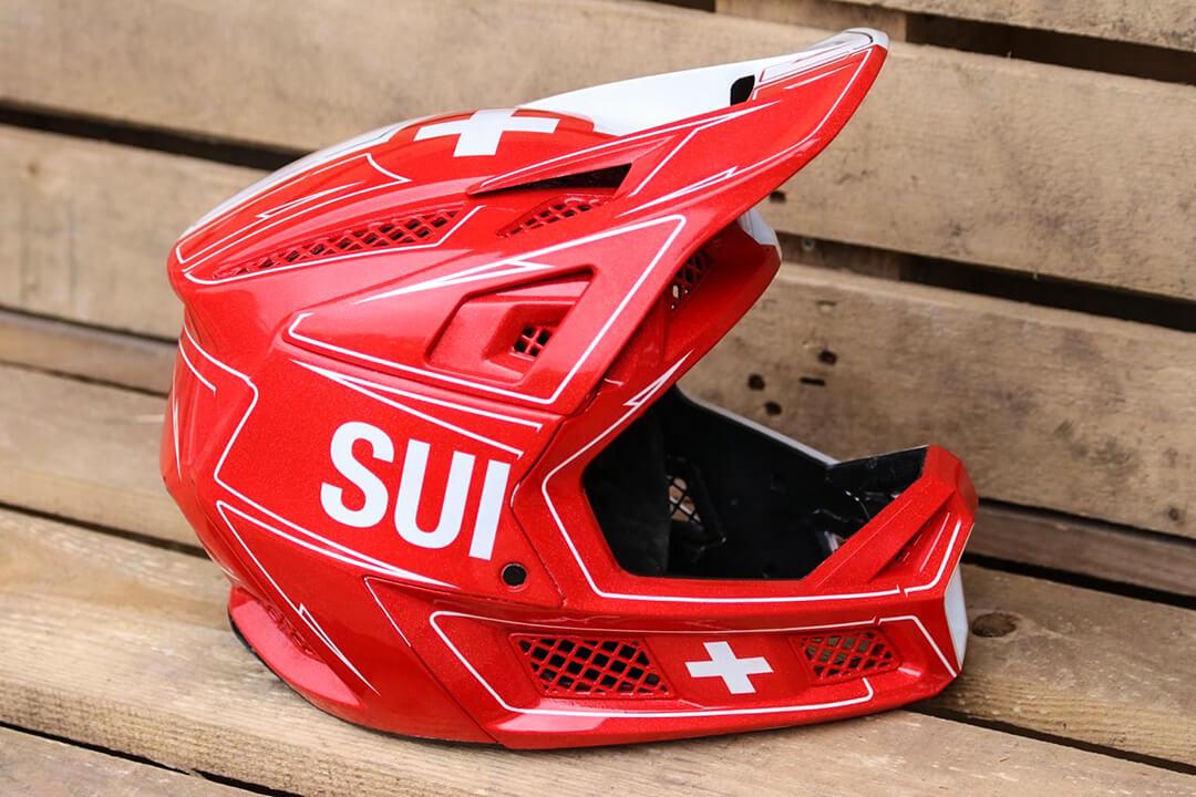 David Graf Tokyo 2020 Olympic Helmet