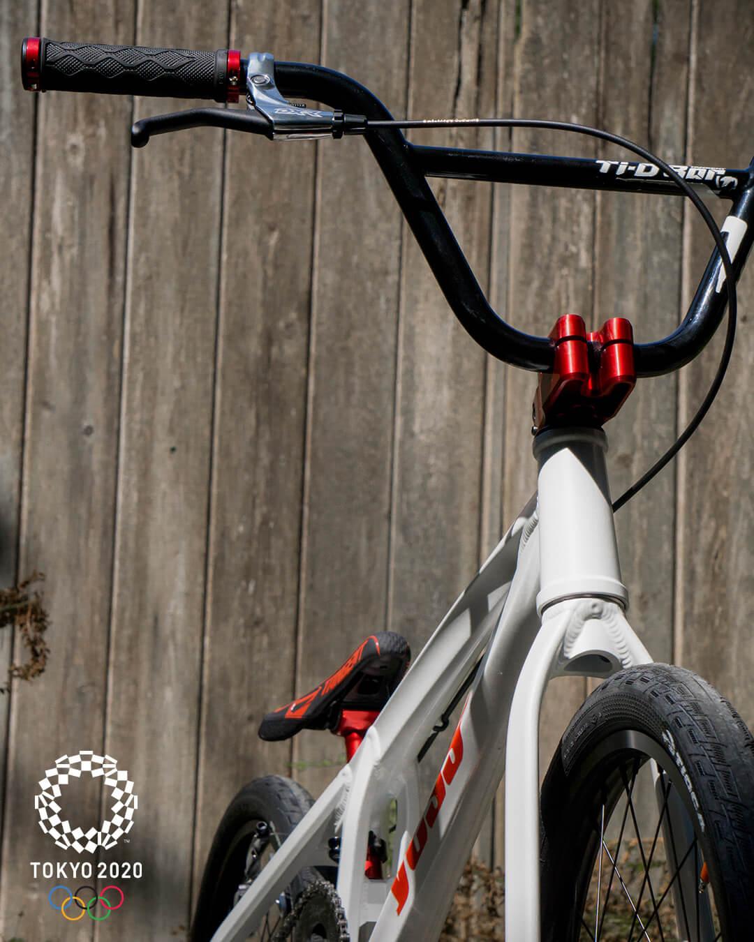Drew Mechielsen Tokyo Olympic Bike Check 7 - Niels Bensink