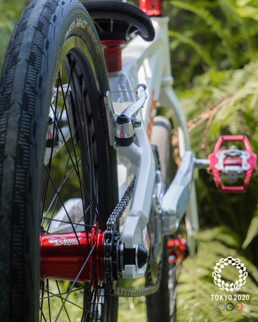 Drew Mechielsen Tokyo Olympic Bike Check 8 - Niels Bensink