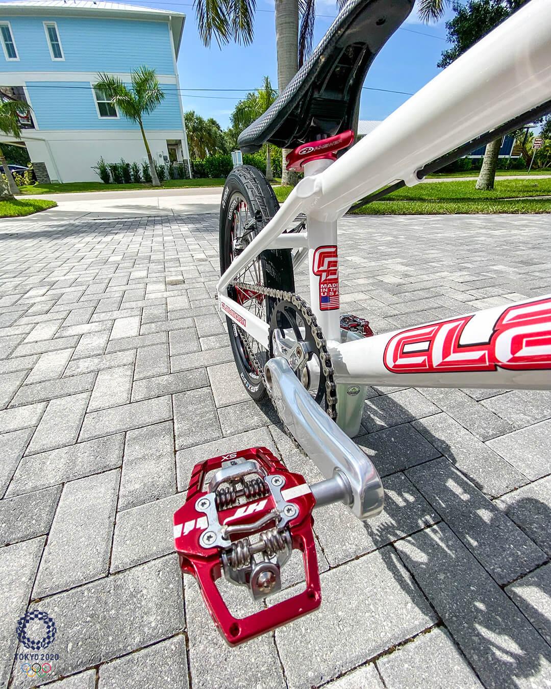James Palmer Tokyo 2020 Olympic Bike