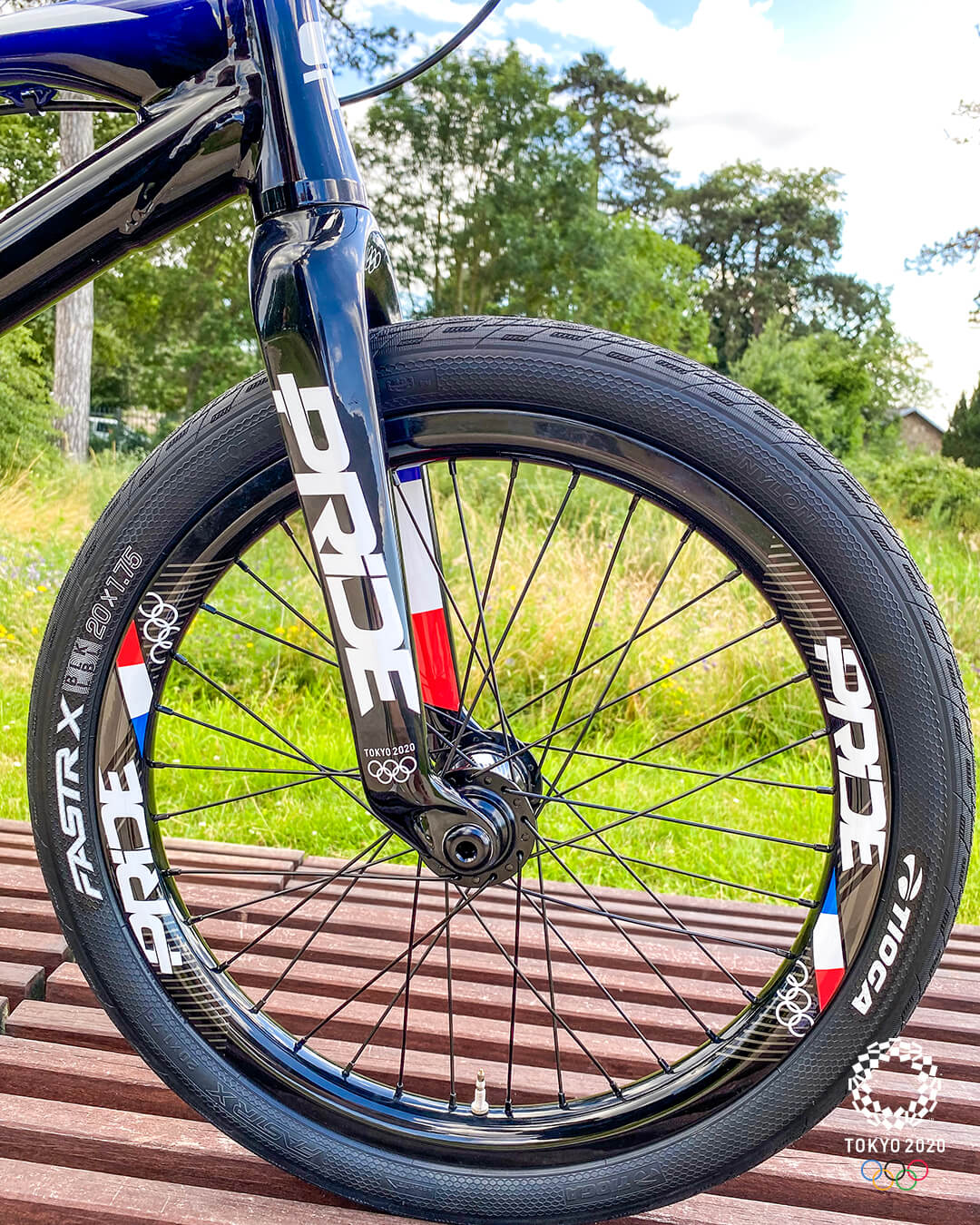 Romain Mahieu GT BMX Pride Racing Tokyo 2020 Olympic Bike