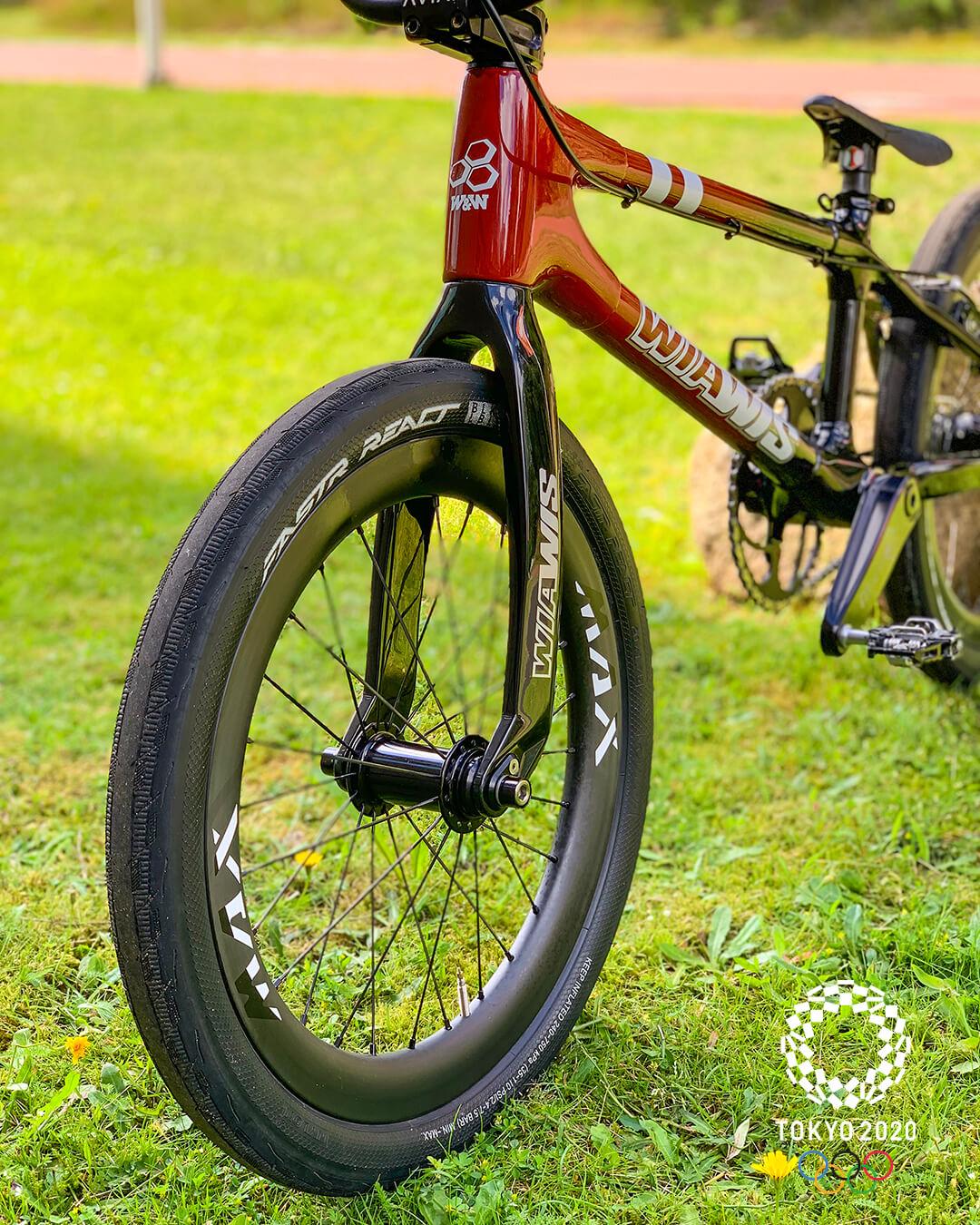 Simone Christensen Tokyo 2020 Olympic Bike