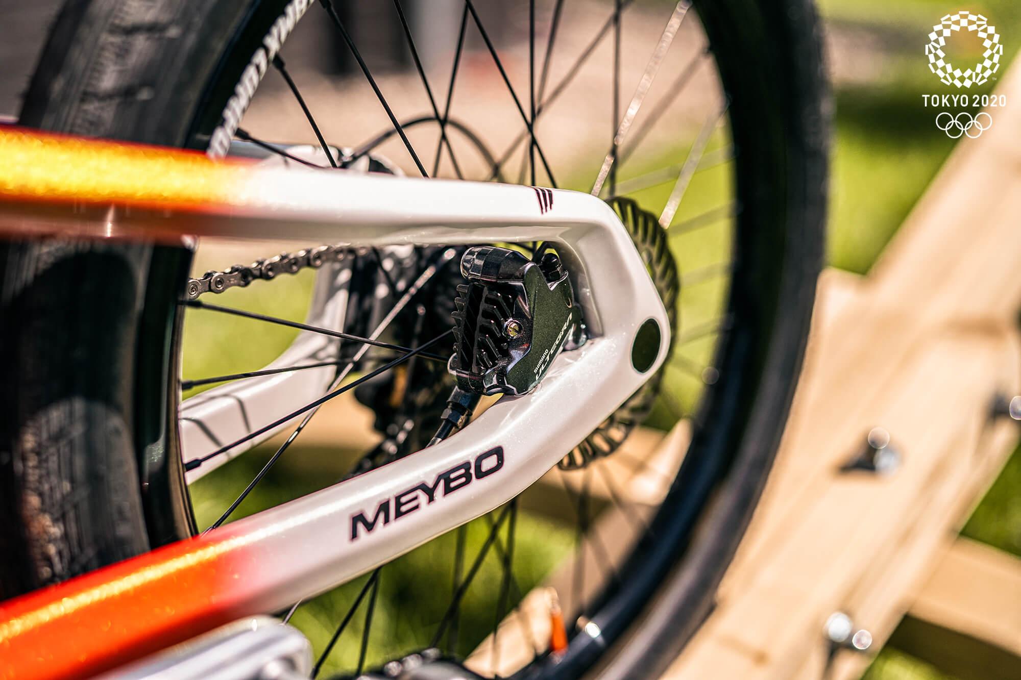 Twan van Gendt Tokyo 2020 Olympic Bike