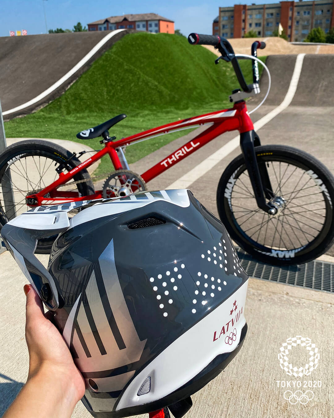 Vineta Petersone Tokyo 2020 Olympic Bike Check