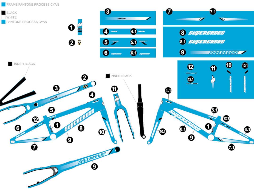Supercross Vision Colour Option