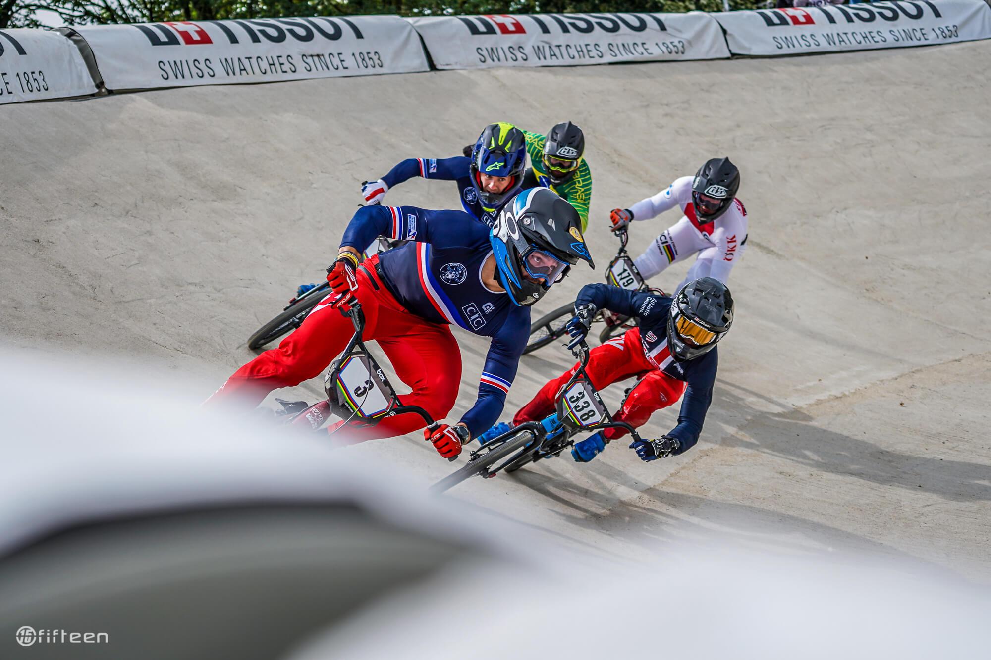 Sylvain Andre 2021 UCI BMX World Championships Papendal - DSC09911